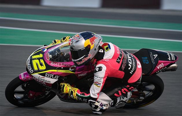 Motocyklový jezdec Salač dojel v brněnských trénincích až šestadvacátý