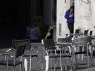 Sever Itálie je kvůli šíření koronaviru v karanténě. (8. března 2020)