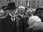 Před 100 lety oslavil Tomáš Garrigue Masaryk své 70. narozeniny