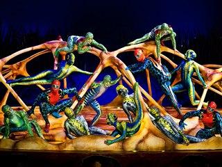 Kanadská společnost Cirque du Soleil v představení Totem, se kterým vystoupí v...