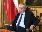 Projev prezidenta Miloše Zemana k pandemii koronaviru