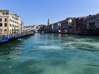 Benátky zejí v době koronavirové prázdnotou. (18. března 2020)