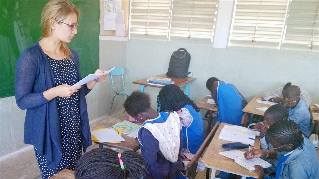 Zachraňme antilopu. Češi platí a zajišťují vzdělávání dětí v Senegalu