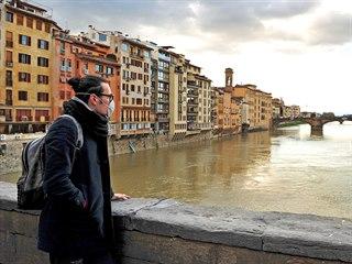 Turistické zajímavosti, jako je Palazzo Vecchio, jsou během karantény téměř...