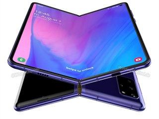 Bude takto vypadat Galaxy Fold 2?