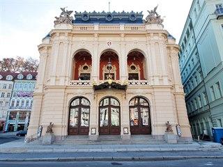 Historická budova Karlovarského městského divadla je architektonickým a...