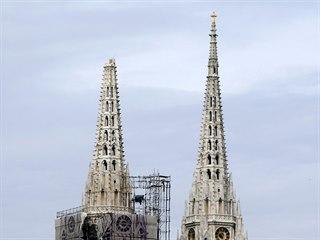 Hlavní město Chorvatska zasáhlo zemětřesení, které poškodilo i katedrálu sv....