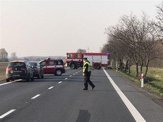 Dva motocyklisté zemřeli na následky dopravní nehody, která se stala nedaleko...