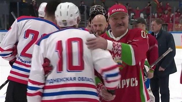Led je nejlepší antivirový lék, myslí si Alexandr Lukašenko