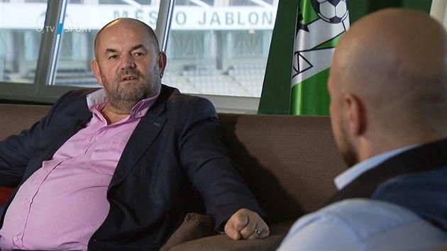 Jeden na jednoho: Chtěl bych, abychom v Jablonci hráli předkolo Ligy mistrů, prozradil Pelta