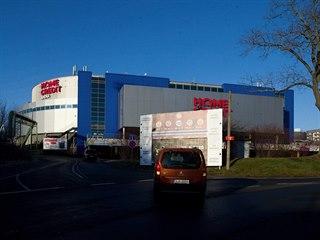 Home Credit Arena v Liberci, která je součástí celého Sport Parku