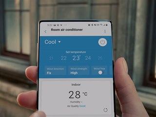 Neznámý Samsung v reklamě na klimatizaci by mohl být chystaný Note 20