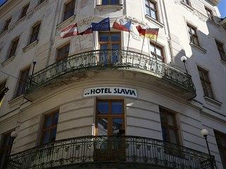 Hotel Slavia v centru Brna vyhledávají především hosté ze zahraničí, kteří v...