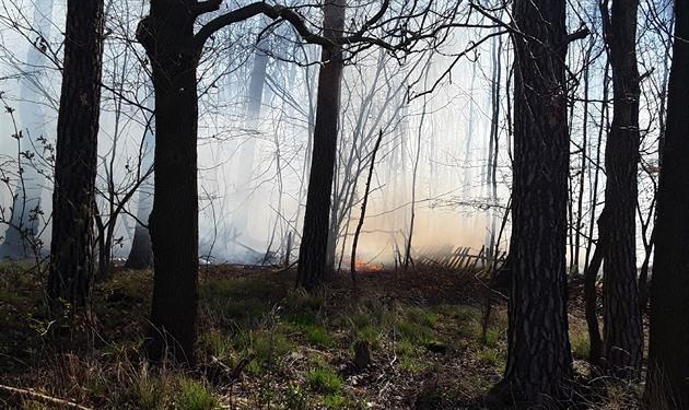 Vysočinu spalovala více než stovka požárů, platí zákaz rozdělávání ohňů