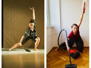 Energická Rie Morita a její Posedlost baletem.