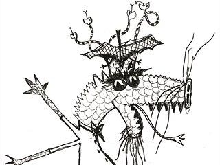 Z pohádky O zlém draku Koroňákovi