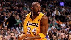 Rok 2012 - Kobe Bryant z Los Angeles Lakers v zápase proti Boston Celtics