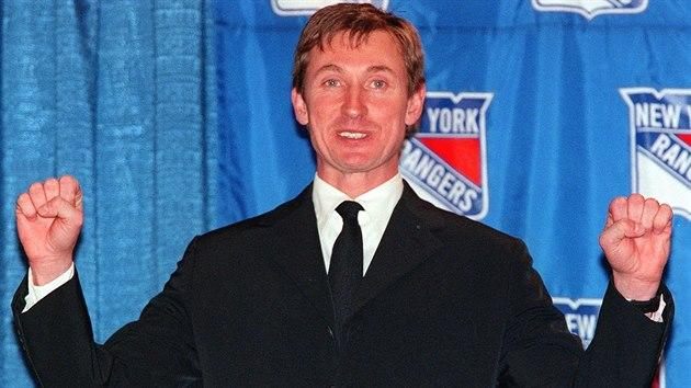 Wayne Gretzky právì oznámil konec své hráèské kariéry.