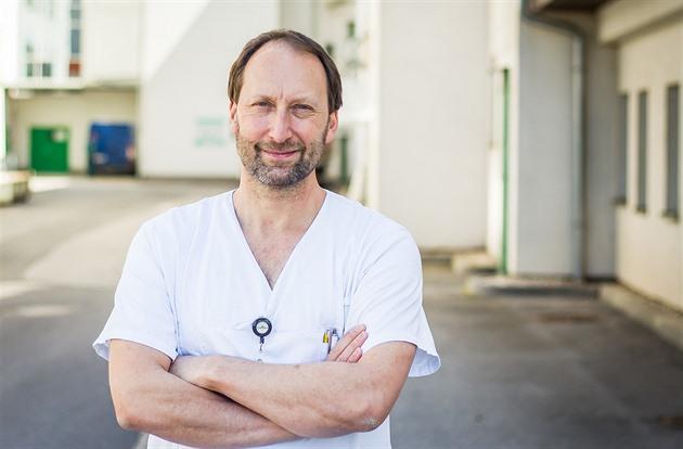 Aleš Chrdle je primářem infekčního oddělení českobudějovické nemocnice.