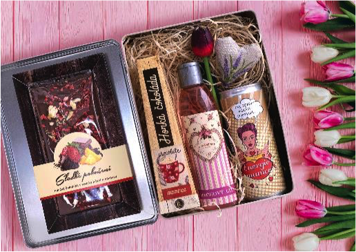 Dárkový box pro maminku – Milované mamince, cena: 449 Kč
