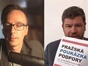 Europoslanec Jiří Pospíšil v rozhovoru po Skypu