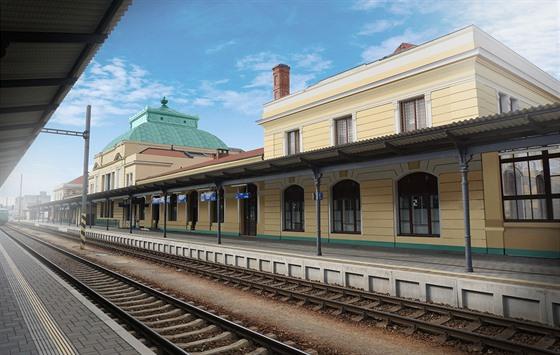 Budově nádraží v Českých Budějovicích zůstane i po kompletní rekonstrukci její...