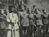 První Rusku, která velela bojové jednotce, popravili bolševici