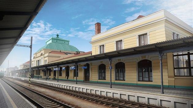 Budově nádraží v Českých Budějovicích zůstane i po kompletní rekonstrukci její historická podoba.