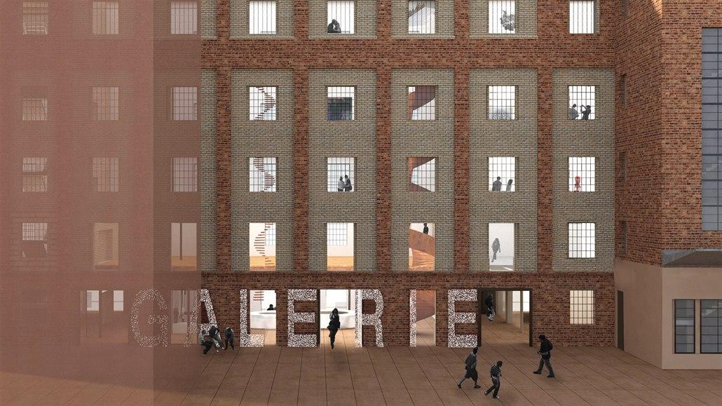 Přestavba Gočárových mlýnů začala, do dvou let se promění v galerii