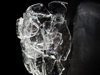 Z retrospektivy Bořka Šípka v Galerii Tančící dům (2020)