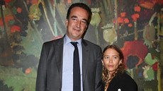 Olivier Sarkozy a Mary-Kate Olsenová (New York, 11. listopadu 2017)