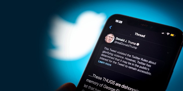 GLOSA: Opravit Trumpa? Nikoli, šéf Twitteru chce ovlivnit volby