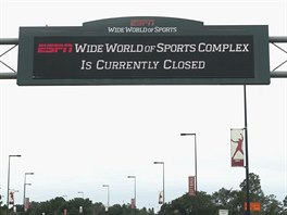 ESPN's Wide World of Sports, součást Walt Disney Worldu u Orlanda, zavřel v...