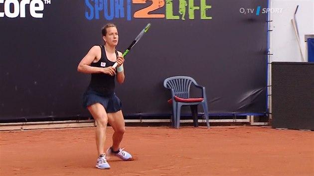 Reportáž z tenisového duelu Siniaková - Strýcová