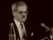 Poslední předlistopadový předseda ČSL se narodil před 100 lety