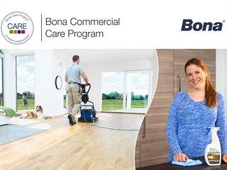 Bona CARE - kompletní systém kvalitní údržby vinylových, PVC a dřevěných podlah.