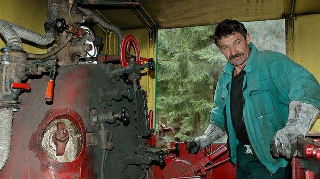 Sto let staré ovládání lokomotivy ještě stále funguje.