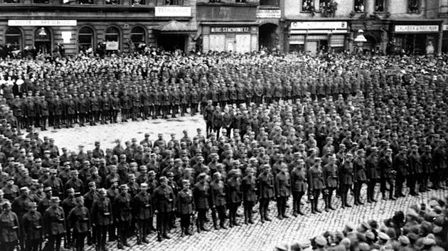Olomoučtí legionáři před 100 lety zažívali emotivní momenty po návratu z Ruska