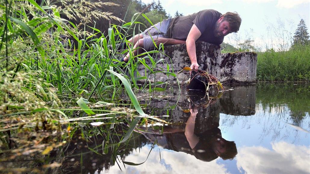 V Bečově bude největší vodní zahrada, vzniká z bývalých rybích sádek
