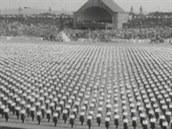 Všesokolský slet v roce 1920
