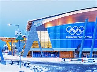 Rychlobruslařská hala zimních olympijských her v kanadském Vancouveru