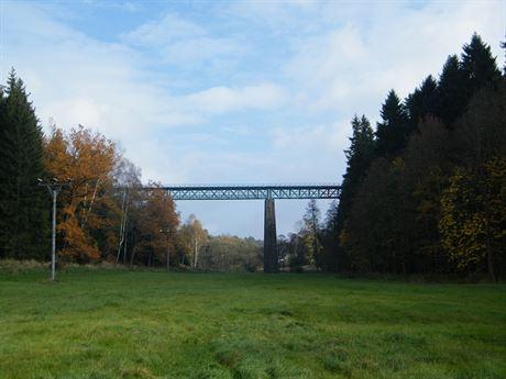 Železniční viadukt ve Vilémově (pohled od jihu)
