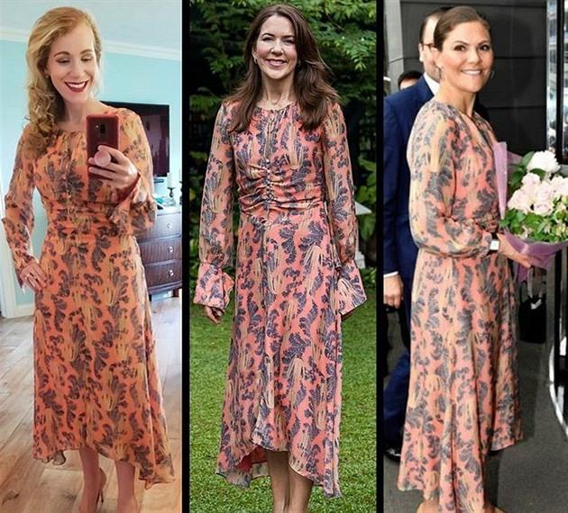 Američanka je posedlá outfity žen z královských rodin. Stály ji statisíce