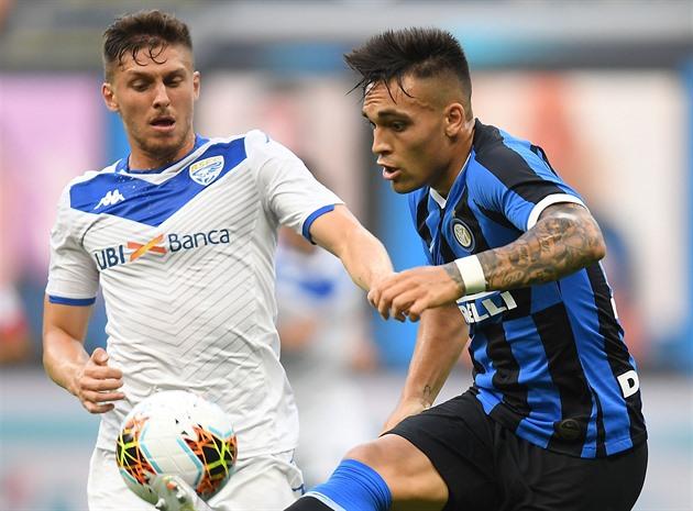 Matějů zavinil penaltu, Brescia podlehla Interu. Český souboj pro Jankta