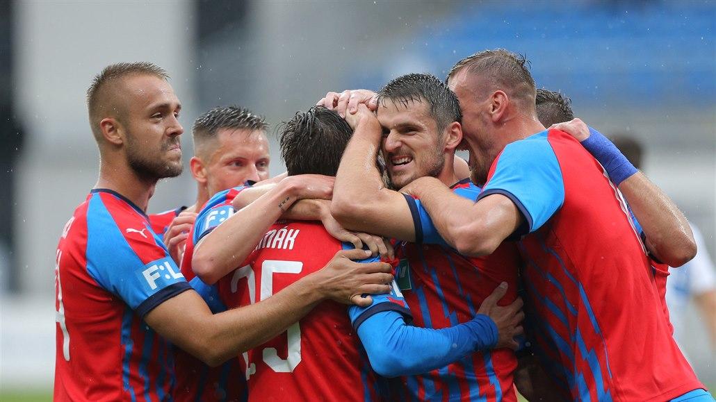 Plzeň - Liberec 4:0, domácí dominovali, dva góly vstřelil Čermák