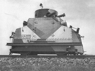 Jediná obrněná drezína československé armády Tatra T 18
