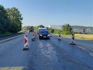 V Brně začala rekonstrukce povrchu vytížené křižovatky u kuřimské věznice (4....