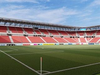 Vizualizace přestavby brněnského stadionu