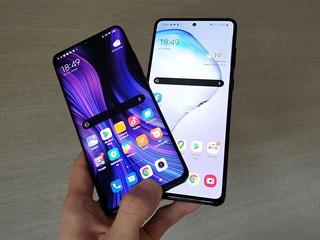 Samsung Galaxy Note10 Lite a Xiaomi Mi Note 10 Lite