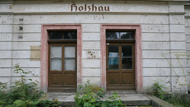 Osm kilometrů dlouhý úsek Moldavské dráhy z Moldavy na Teplicku do německého Holzhau má velkou naději na obnovu. Stanice Holzhau, Německo (3. 7. 2020)